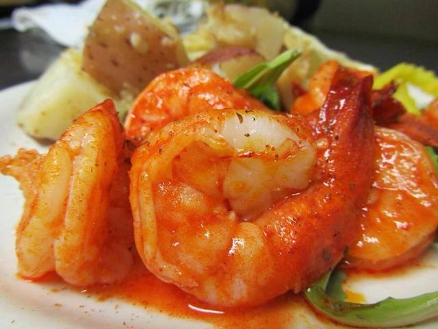 Sauteed Shrimp Dinner (spicy)