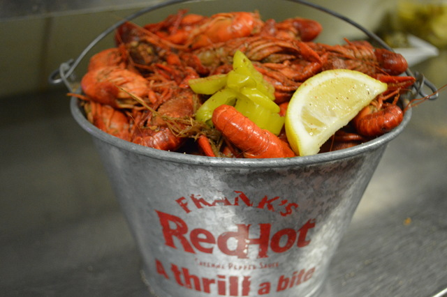 Fresh Crawfish Boil (appetizer portion)
