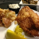 Fried Catfish Filet dinner